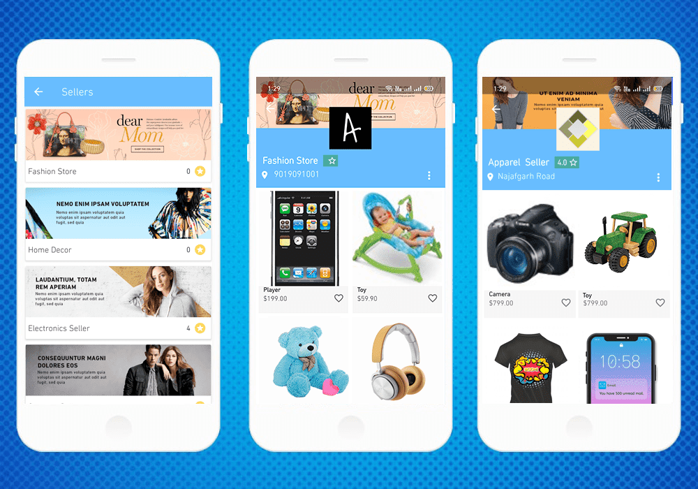 Android and iOS App Builder