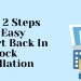 Follow 2 steps for easy opencart back in stock installation