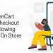 Install OpenCart simplified checkout module following these steps on store